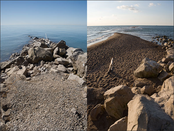 Point Pelee Tip Comparison